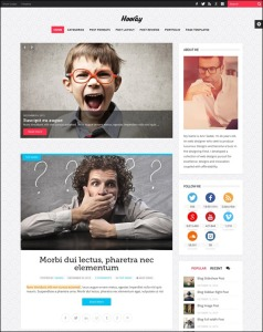 wordpress theme for writers